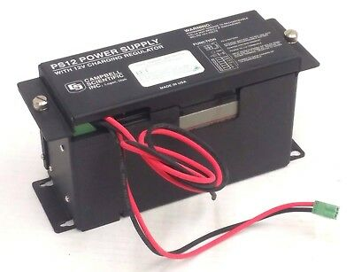 Campbell Scientific PS12 Power Supply Unit w/ 12V Charging Regulator and Battery