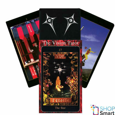 The Vision Tarot Deck Cards By Tim Thomson Esoteric Telling New