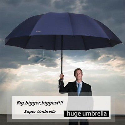 60inch Top Quality Big Fold Anti-UV Business Umbrella Men/Women Rain Windproof
