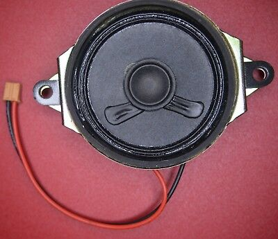 SPEAKER SMALL 50mm WITH FIXING LUGS 8R 1 WATT PACK OF 2