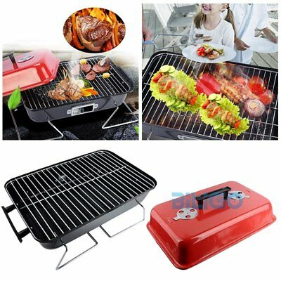 Table Top Portable Charcoa Barbeque Barbecue BBQ Cooker Stove Grill Picnic Beach