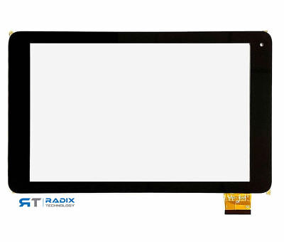 Alba 10 Tablet Black AC101CPLV2 Touch Screen Digitizer Replacement New