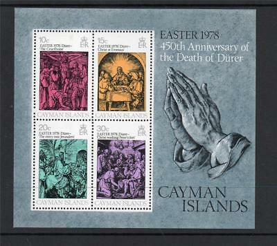 Cayman Islands Mnh 1978 Ms463 Easter