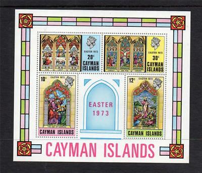 Cayman Islands Mnh 1973 Ms328 Easter
