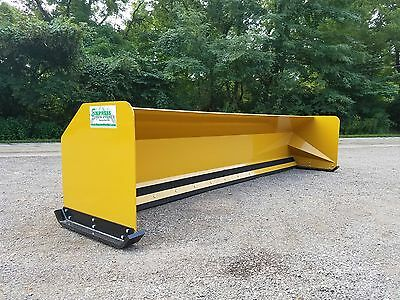 16' JRB 416 Snow pusher box for backhoe loader Express Snow Pusher FREE SHIPPING