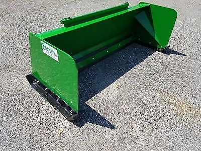 6' Low Pro John Deere snow pusher box FREE SHIPPING