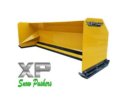 10' Snow pusher boxes backhoe loader snow plow Express Steel LOCAL PICK UP