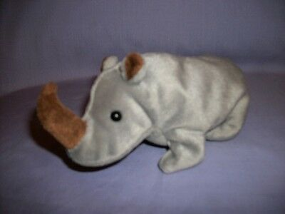 TY Beanie Babies Spike The Rhino With Tush Tag Only 1996