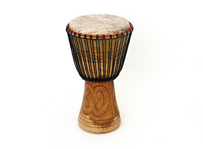 Bucara Hand Carved 13 inch Djembe (NEW)