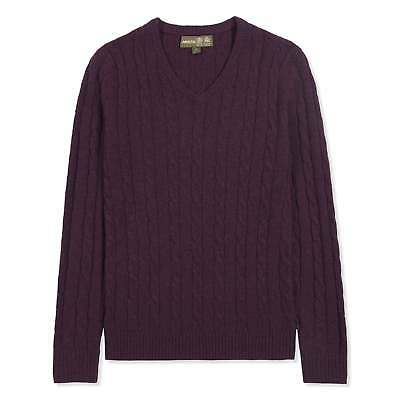 2 Colours Were £79 now £49.95 Musto Ladies Hollie V-Neck Cable Knit Jumper
