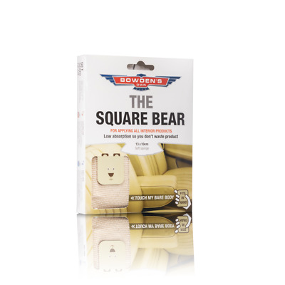Bowden's Own Square Bear Microfiber Mothers Meguiars Turtle Wax