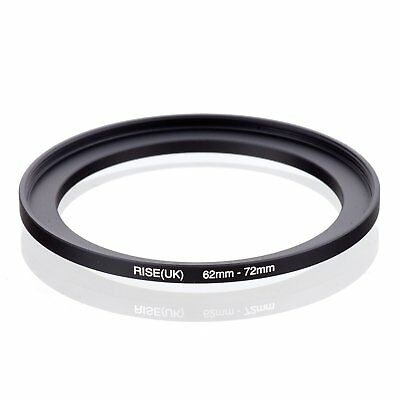 RISE(UK)62-72mm62mm-72mm62 to 72 Metal Step Up Lens Filter Ring Stepping Adapter