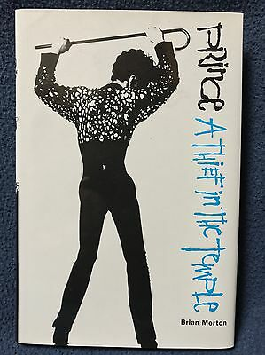 Prince - A Thief In The Temple By Brian Morton - 1st US Edition - Hardcover