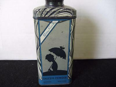 Vintage Watkins Mary King  Powder Tin~Rare Find~