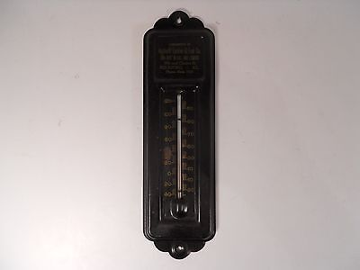 Vintage HIGHLAND LUMBER & FUEL CO Advertising Thermometer ~ Rockford Illinois
