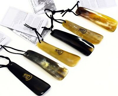 Abbeyhorn Flat Shoe Horn - Perfect for Travel