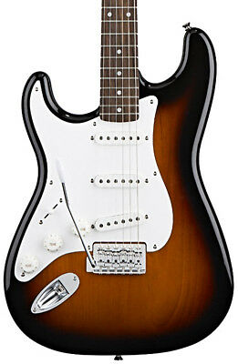 Fender Squier Left Handed Affinity Stratocaster, Brown Sunburst, RW (NEW)