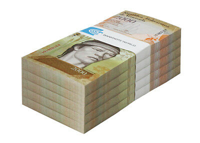 Venezuela 2,000 Bolivares X 500 Pieces (PCS), 2007-17, P-NEW, UNC,Half Brick