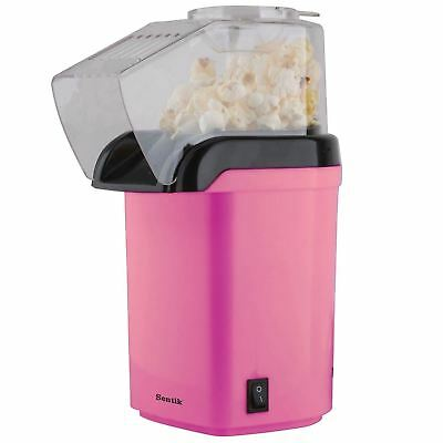 1200w Pink Electric Popcorn Maker Machine Fat Free Pop Corn Popper
