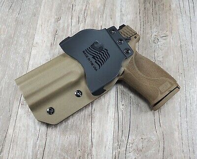 Smith Wesson M&P 9 40  M2.0 5 FDE Paddle holster by SDH Swift Draw Holsters