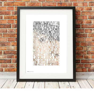 SOFT CELL ❤ Say Hello, Wave Goodbye ❤ song lyric poster art limited ed Print #67