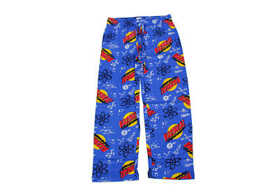 The Big Bang Theory Bazinga Blue Lounge Pants