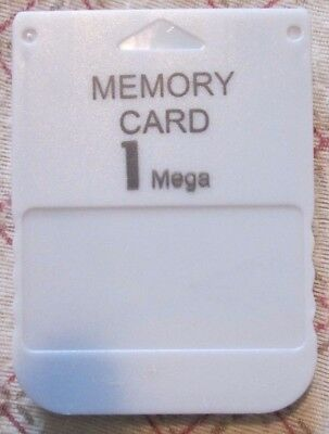 Generic Grey 1 MB Memory Card for Play Station 1 PS1