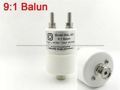 150W 9:1 Balun HF Shortwave Dipole Antenna Balun 1.8-54MHz for radio QRP
