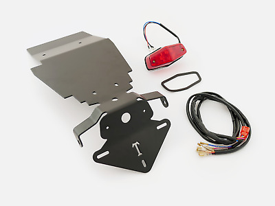 Triumph Thruxton 900 - Tail Tidy / Number Plate Holder Kit & Light & Wiring