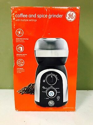 GE General Electric housewares New Coffee And Spice Grinder