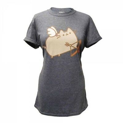 "Pusheen Girlie T-Shirt ""Love Cat"""