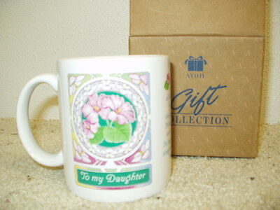 NIB AVON Gift Collection Sentimentally Yours Mug - Daughter Coffee Cup