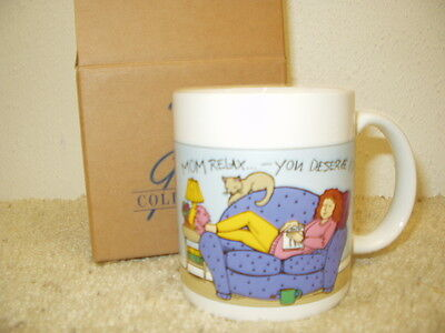 NIB AVON Gift Collection Message for Mom Mug - Relaxing Mom Mother's Day 1995