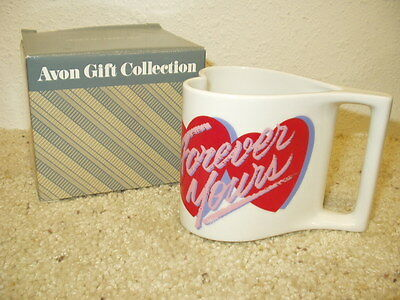 NIB AVON Gift Collection  Here's My Heart Mug Coffee Cup Valentine's Day