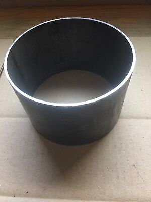 """1/8"""" Thick X 4"""" Long X 6"""" Od Round Steel Tube"""