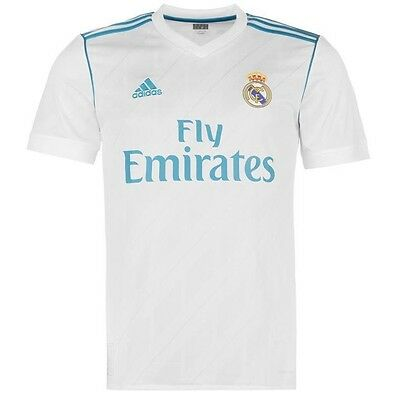 Real Madrid Home Soccer Football Jersey Shirt 2017/18 BNWT