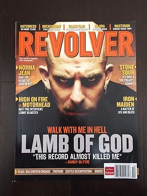 Revolver Magazine October 2006 Lamb Of God