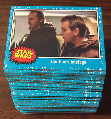 2017 Topps Star Wars Journey to The Last Jedi 110-Card Base Set