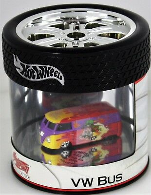 Hot Wheels Petersen Museum LE Ed Roth Rat Fink VW Volkswagon Drag Bus Oil Can