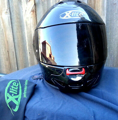 X Lite - X 901 - Nolan - Full Face - Black - Motorbike Helmet - Post Available