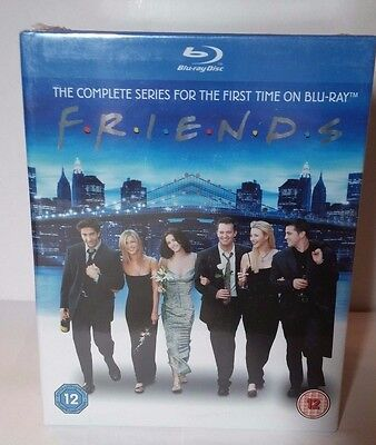FRIENDS-THE COMPLETE SERIES (Blu-ray) -All 10 Seasons-NEW(Sealed)-Free Shipping