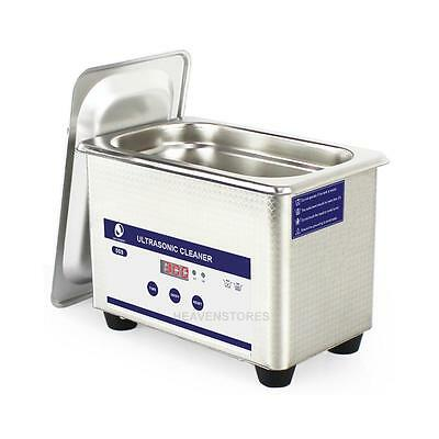 Digital Dental Stainless Steel Ultrasonic Parts Cleaner Sonic Cleaning Equipment