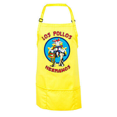 Brand New Breaking Bad Los Pollos Hermanos Apron Officially Licensed