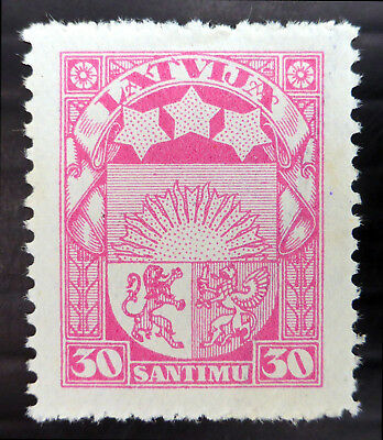 LATVIA 1925 - 30s SG108c Mounted Mint NB3197