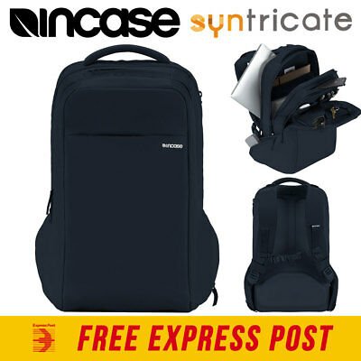 Incase Icon Backpack Bag For Laptop Notebook Ipad Tablet Macbook - Navy