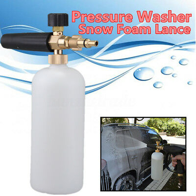 Pressure Washer Snow Foam Lance For Lidl Parkside Qualcast VAX Kranzle Jet Gun