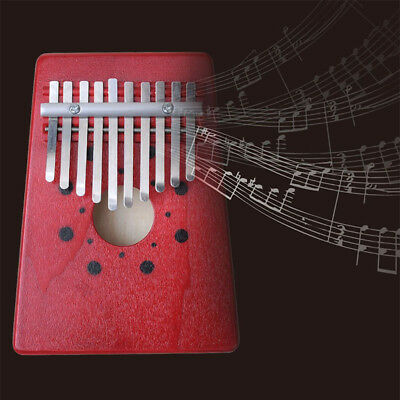 Finger Percussion 10 Key African Thumb Piano Keyboard Music Instruments Kids Toy