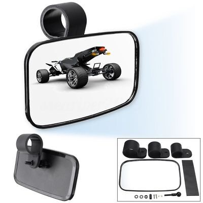 Universal Car Center Clear Rear View Mirror Adjustable Wide For UTV Off Road NEW