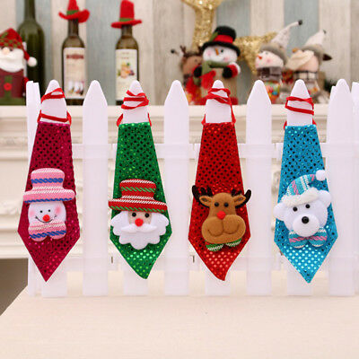 Lovely Children Kids Christmas Chic Necktie Bow Tie Dance Party Decorations Hot