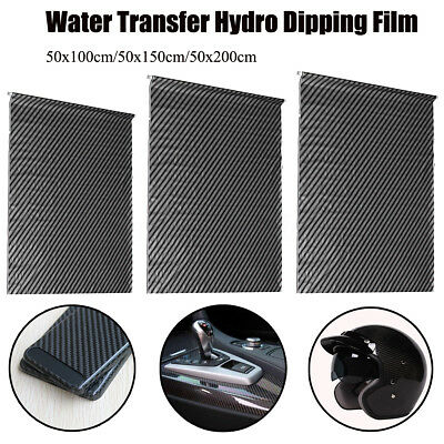 1m/2m Carbon Fiber Hydrographic Water Transfer Film Hydro Dipping Printing UK